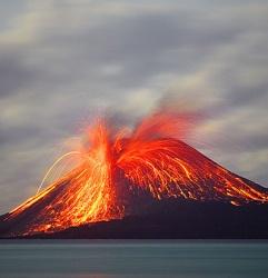 Типы извержений различных вулканов