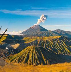 Самые «недружелюбный» вулкан Мерапи