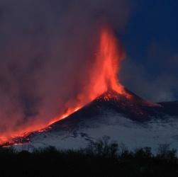 Боковые извержения вулканов