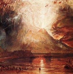 Извержение Везувия в живописи