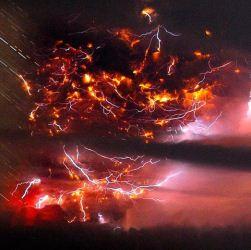 Вулкан Санторин в религиозных текстах