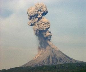 Вулкан Жупановский на Камчатке