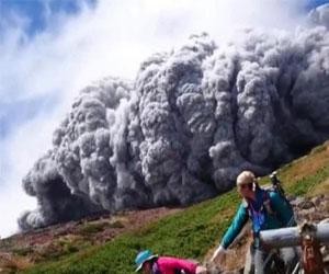 Вулкан Онтакэ в Японии. Жертвы извержения