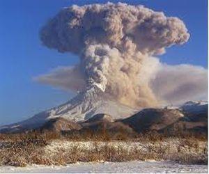 Самый активный вулкан на Камчатке - Шивелуч