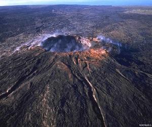 Вулкан Ламингтон в Новой Гвинее