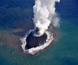 Вулканы на островах Тихого океана